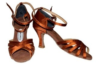 Picture of 3. Spider Latin Shoe With Ankle Strap
