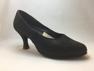 Picture of Ballroom Glitter black ladies shoe