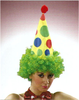 Picture of Clown Hat With Hair