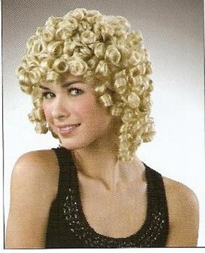Picture of Curly Wig Shoulder Length