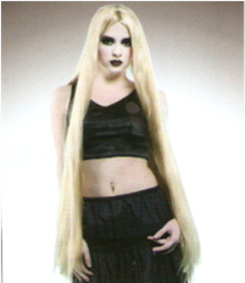 Picture of Extra Long Blonde Wig