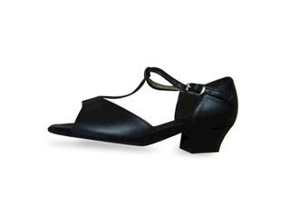 Picture of Girls Open Toe Latin Shoe