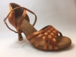 Picture of Latin International Dance Shoe with a weave