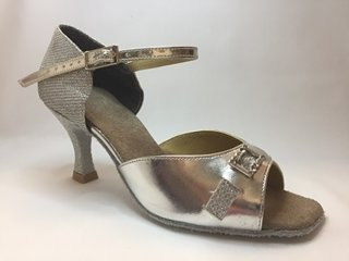 Picture of Latin Silver open toe with short ankle strap (2)