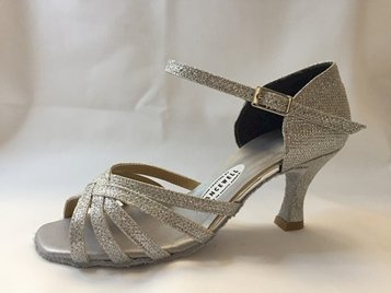 Picture of Latin Spider Silver with short ankle strap