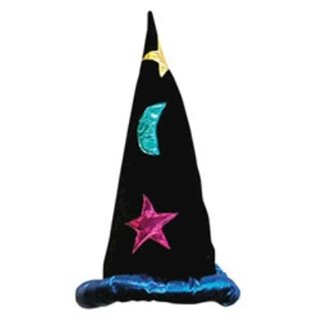Picture of Multi Coloured Wizard Hat