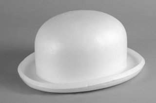 Picture of Polystyrene Bowler Hat