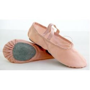 Picture of Split Sole Canvas Ballet Pump