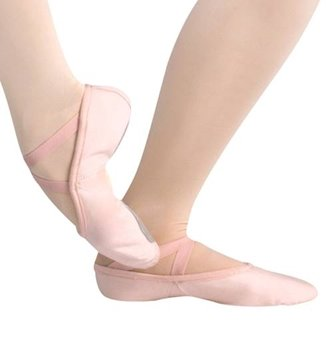 Picture of Split Sole Canvas Ballet Pump Dancewell