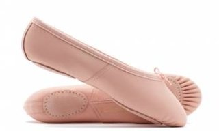 Picture of Split Sole Leather Ballet Pump Dancewell