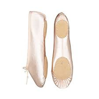 Picture of Split Sole Satin Ballet Pump