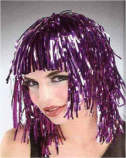 Picture of Tinsel Wig Pink