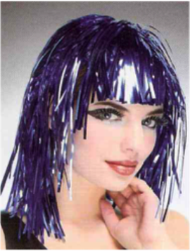 Picture of Tinsel Wig Purple