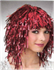 Picture of Tinsel Wig Purple Red