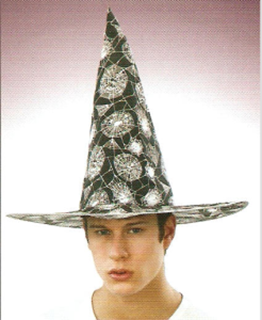 Picture of Witch Hat Silver Webs