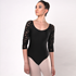 Picture of 9.Raglan Lace Long Sleeve Leotard