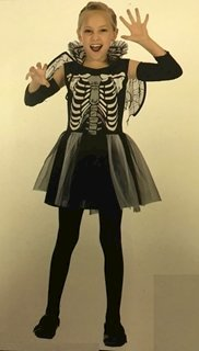 Skeleton Girl Full Outfit