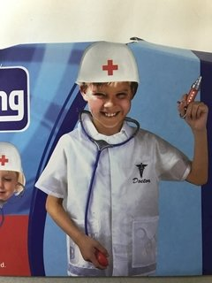 Doctor Kid Suit Halloween