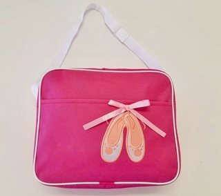 Pink Ballet Bag with Ballet Shoes