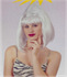 Picture of Bob Beehive With Fringe Silver Wig
