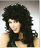 Picture of Medium Curly Black Wig