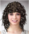 Picture of Tinsel Wig Black