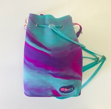 Swirl string bag