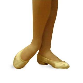 Picture of Satin Ballerina Wedding Shoe