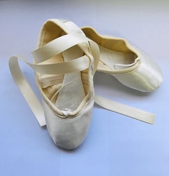 Picture of Wedding Ballet Pumps Satin